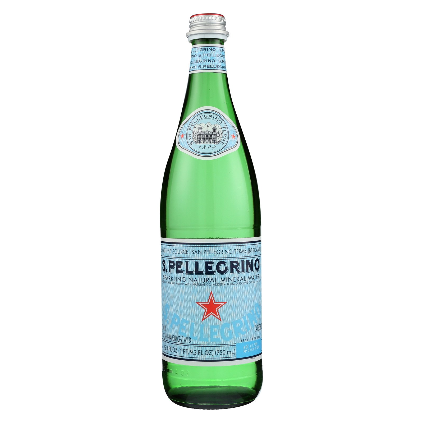 S Pellegrino Sparkling Natural Mineral Water  Count