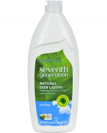 Seventh Generation Dish Liquid - Free and Clear - 25 oz