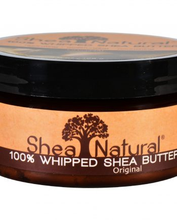 Shea Natural Whipped Shea Butter Original Fragrance Free - 7 oz