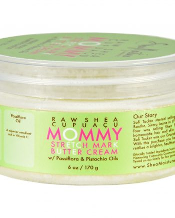 SheaMoisture Stretch Mark Butter Cream - Mommy - Raw Shea Cupuacu - 6 oz