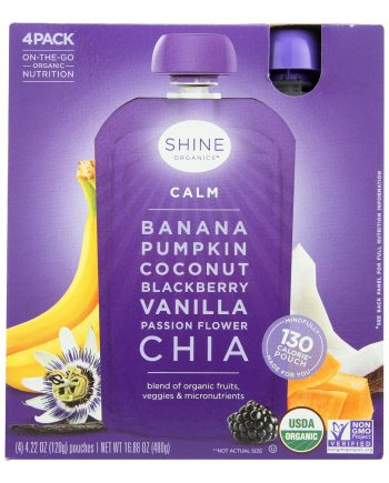 Shine Organics Superfood Calm - Case of 4 - 0.22 oz.
