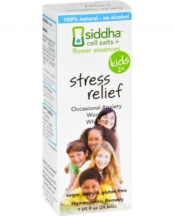 Siddha Flower Essences Stress Relief - Kids - Age Two Plus - 1 fl oz