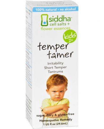 Siddha Flower Essences Temper Tamer - Kids - Age Two Plus - 1 fl oz