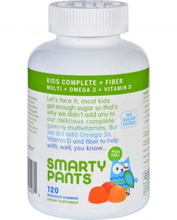 SmartyPants Multivitamin - Kids Fiber Complete Gummy - 120 ct