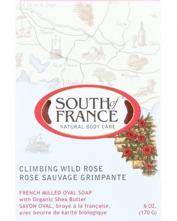 South Of France Bar Soap - Climbing Wild Rose - 6 oz - 1 each