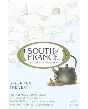 South Of France Bar Soap - Green Tea - 6 oz - 1 each