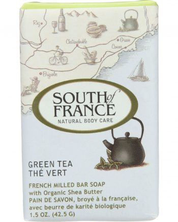 South Of France Bar Soap - Green Tea - Travel - 1.5 oz - case of 12
