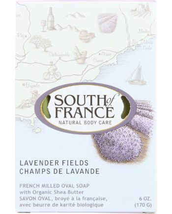 South Of France Bar Soap - Lavender Fields - 6 oz - 1 each