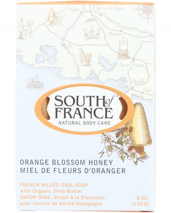 South Of France Bar Soap - Orange Blossom Honey - 6 oz - 1 each