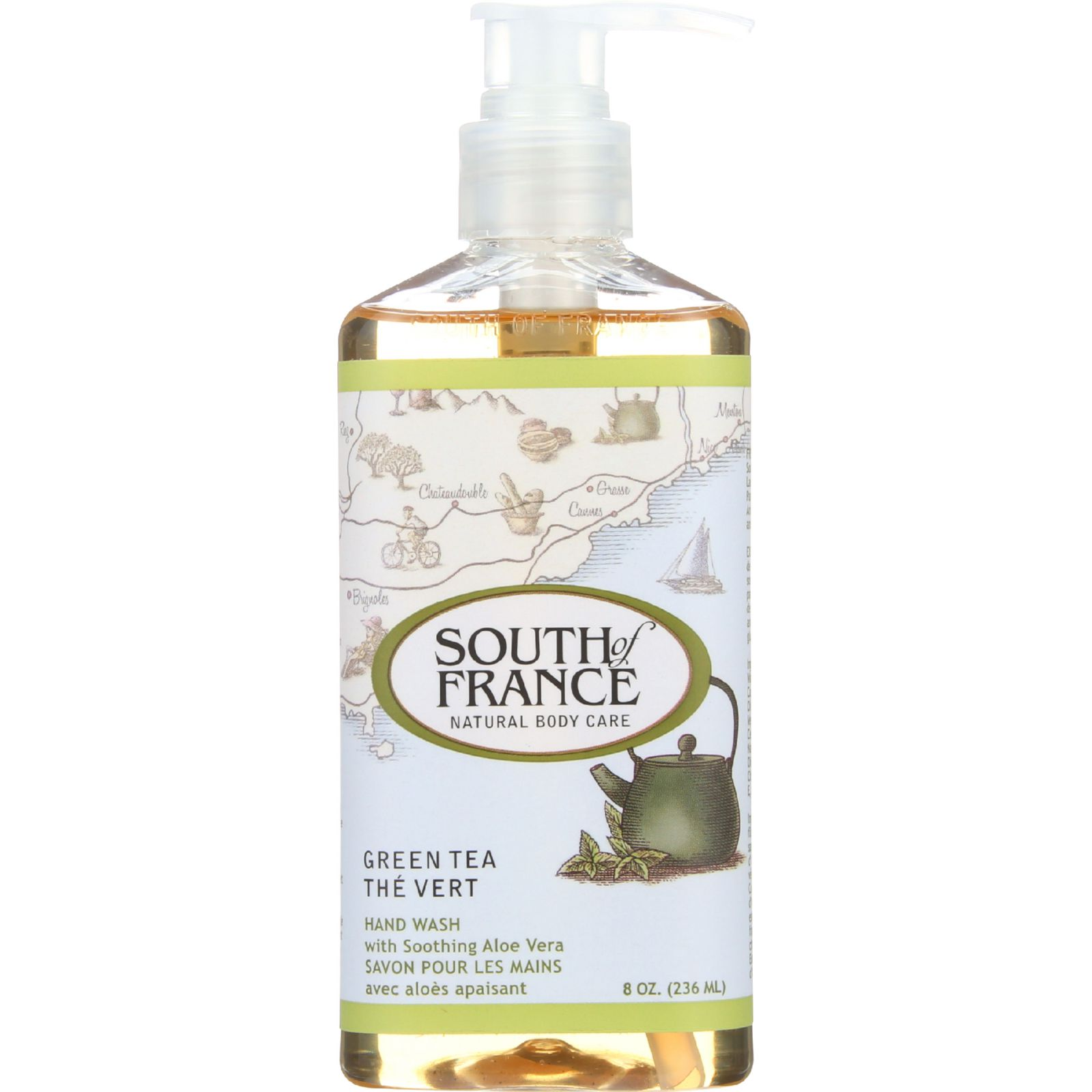 South Of France Natural Body Care Liquid Soap