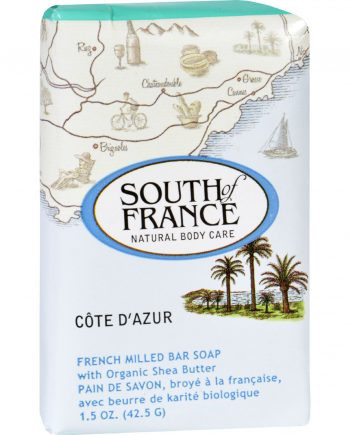 South of France Bar Soap - Cote dAzur - Travel - 1.5 oz - Case of 12