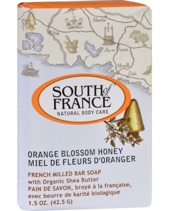 South of France Bar Soap - Orange Blossom Honey - Travel - 1.5 oz - Case of 12