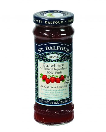 St Dalfour Fruit Spread - Deluxe - 100 Percent Fruit - Strawberry - 10 oz - Case of 6
