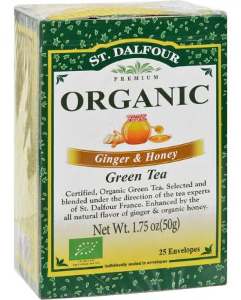 St Dalfour Ginger and Honey Green Tea - 25 Tea Bags