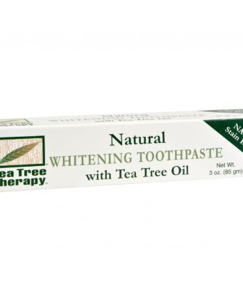 Tea Tree Therapy Natural Whitening Toothpaste - 3 oz