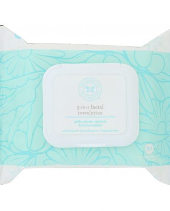 The Honest Company 3-In-1 Facial Towelettes - Case of 1 - 30 Count