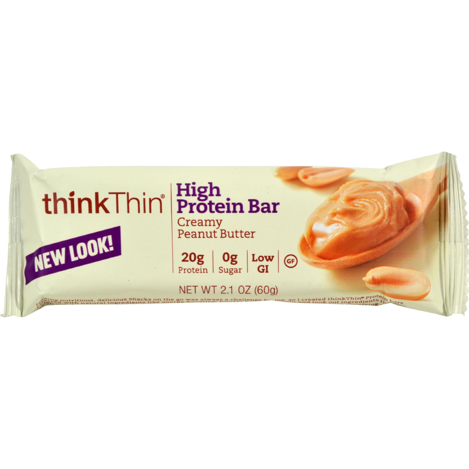 Delivering 20g protein with 0g sugar, thinkThin protein bars are the ideal food on the go for an active weight management lifestyle. Delicious and satisfying, thinkThin protein bars provide energy without the punishing side effects of sugar and gluten.