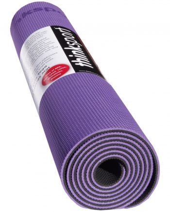 Thinksport Yoga Mat - Purple/Black