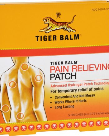 Tiger Balm Patch Display Center - Case of 6 - 5 Packs