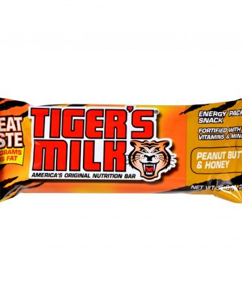 Tigers Milk Bar - Peanut Butter and Honey - 1.23 oz - Case of 24