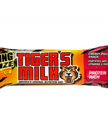 Tigers Milk Bar - Protein Rich - King Size - 1.94 oz - 1 Case
