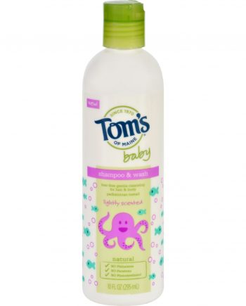Toms of Maine Shampoo and Body Wash - Baby - Light Scent - 10 oz