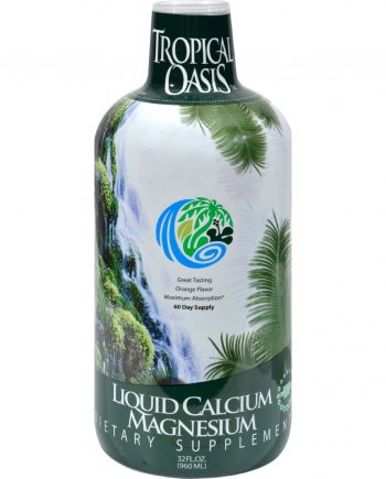 Tropical Oasis Liquid Calcium Magnesium Orange - 32 fl oz