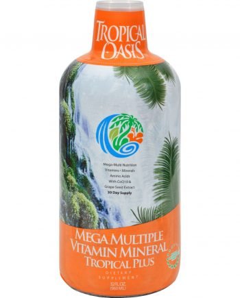 Tropical Oasis Tropical Plus Mega Multiple Vitamn Mineral - 32 fl oz
