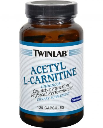 Twinlab Acetyl L-Carnitine - 500 mg - 120 Capsules