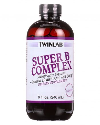 Twinlab Super B Complex - Regular - Case of 1 - 8 Fl oz.