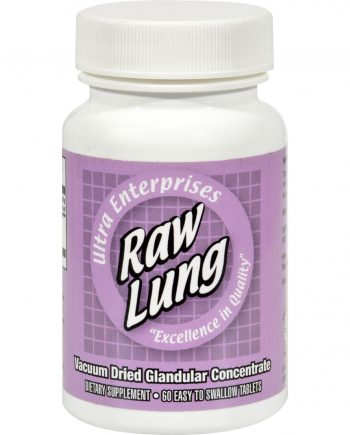 Ultra Glandulars Raw Lung - 200 mg - 60 Tablets