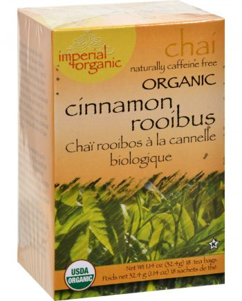 Uncle Lee's Imperial Organic Cinnamon Rooibus Chai Tea - 18 Tea Bags