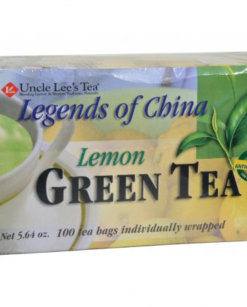 Uncle Lee's Legend of China Green Tea Lemon - 100 Tea Bags