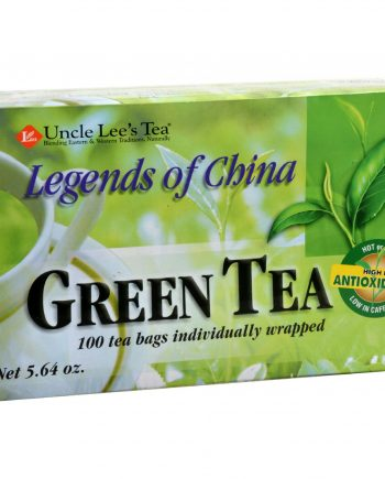Uncle Lee's Legends of China Green Tea - 100 Tea Bags