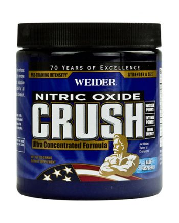 Weider Global Nutrition Crush Pre Workout - Blue Raspberry - 330 Grams