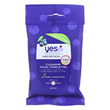 Yes To Cleansing Facial Towelette - Case of 8 - 10 Count