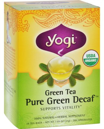 Yogi Tea Green Tea Pure Green - Decaf - 16 Tea Bags