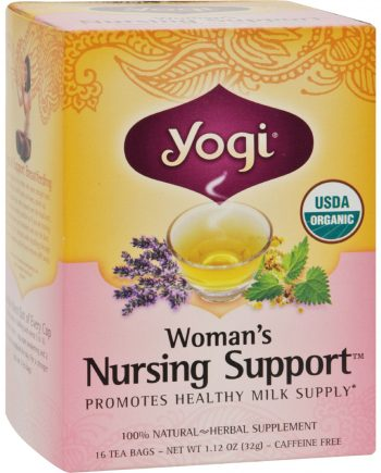 Yogi Tea Woman's Nursing Support - Caffeine Free - 16 Tea Bags