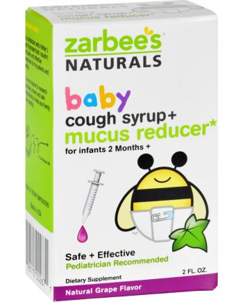 Zarbee's Cough Syrup and Mucus Reducer - Baby - 2 oz
