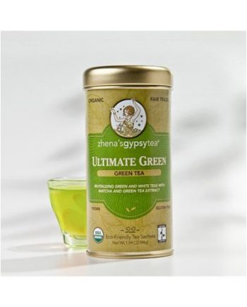 Zhena's Gypsy Tea Ultimate Organic Green Tea - Case of 6 - 22 Bags