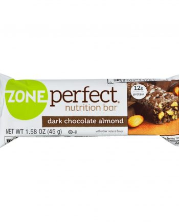 Zone Nutrition Bar - Dark Chocolate Almond - Case of 12 - 1.58 oz