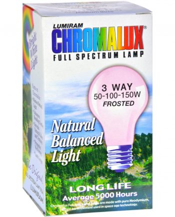 Chromalux Lumiram Full Spectrum 3 Way 50/100/150 watts - Frosted - 1 Light Bulb