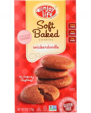 Enjoy Life Cookie - Soft Baked - Snickerdoodle - Gluten Free - 6 oz - case of 6