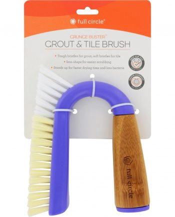 Full Circle Home Grunge Buster Grout and Tile Brush