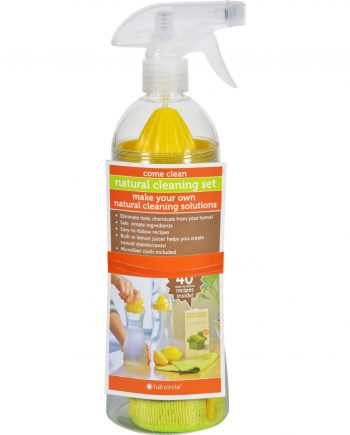 Full Circle Home Spray Bottle Come Clean - Case of 6