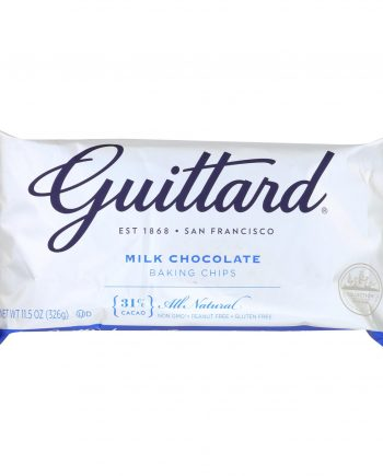 Guittard Chocolate Chips - Real Milk - Case of 12 - 11.5 oz.