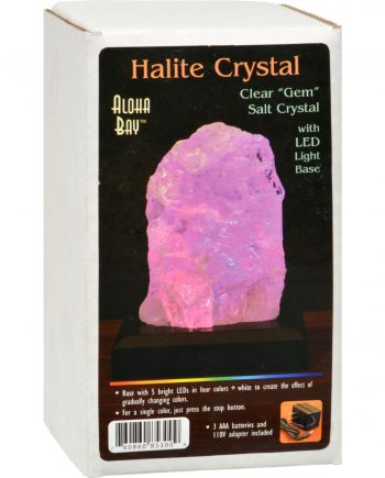 Himalayan Salt Lamp - Halite with LED Base - 1 ct