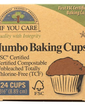 If You Care Baking Cups - Jumbo - Unbleached Totally Chlorine Free - 24 Count