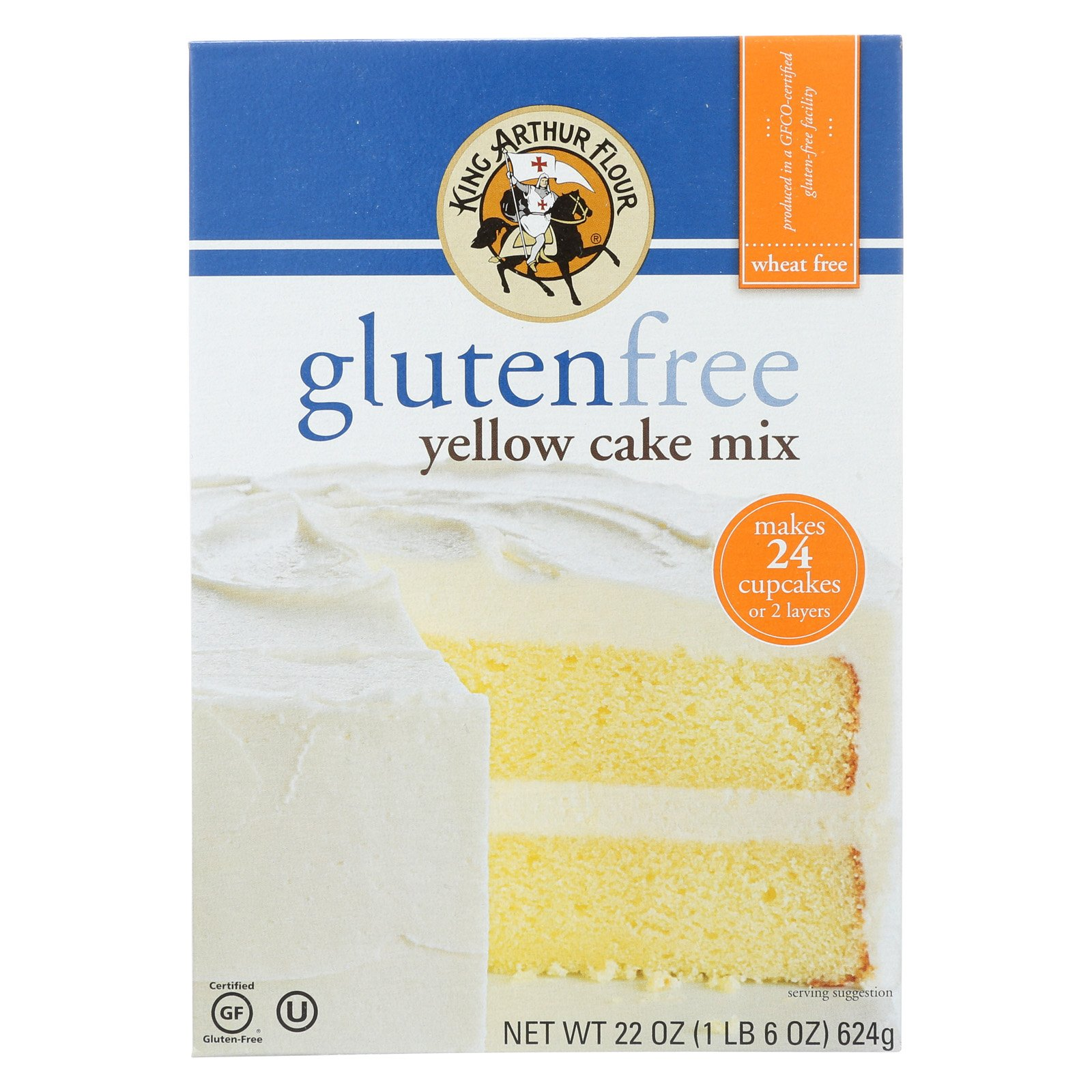 Is King Arthur Gluten Free Chocolate Cake Mix Dairy Free