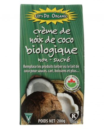 Let's Do Organics Organic Creamed - Coconut - Case of 6 - 7 oz.